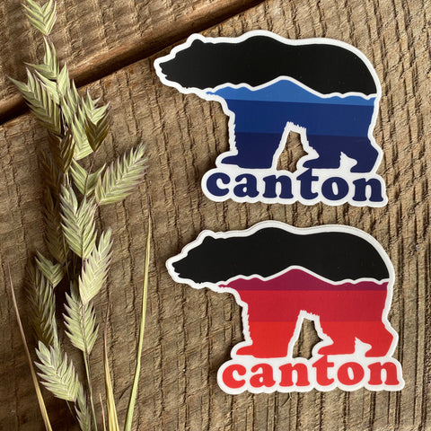 Canton Bear Sticker