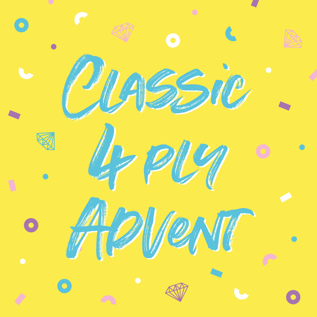 Classic 4 ply Advent Calendar - Pay in full