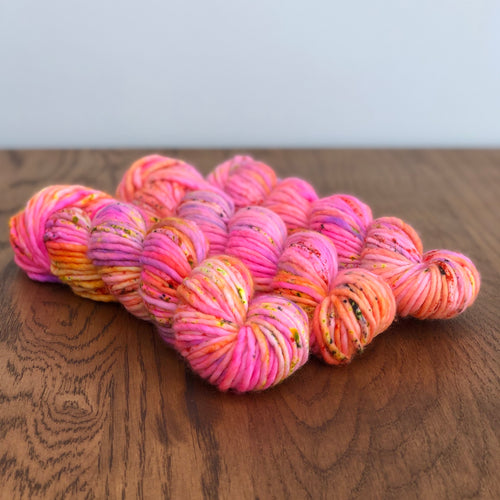 Glowing embers Super chunky merino