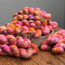 Glowing embers Sock yarn