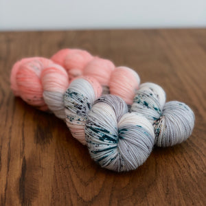 Rock salt Sock yarn