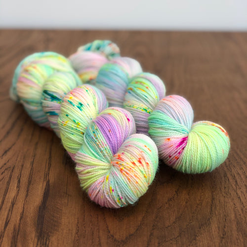 Spring equinox Sock yarn