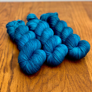 Teal Sock yarn