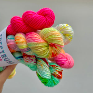 Tropical * Mini skein bundle * Sock