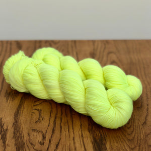 Lemon Sock yarn