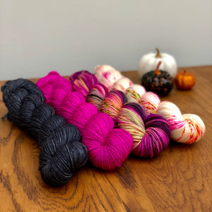Witching Hour 4 skein yarn set * DK