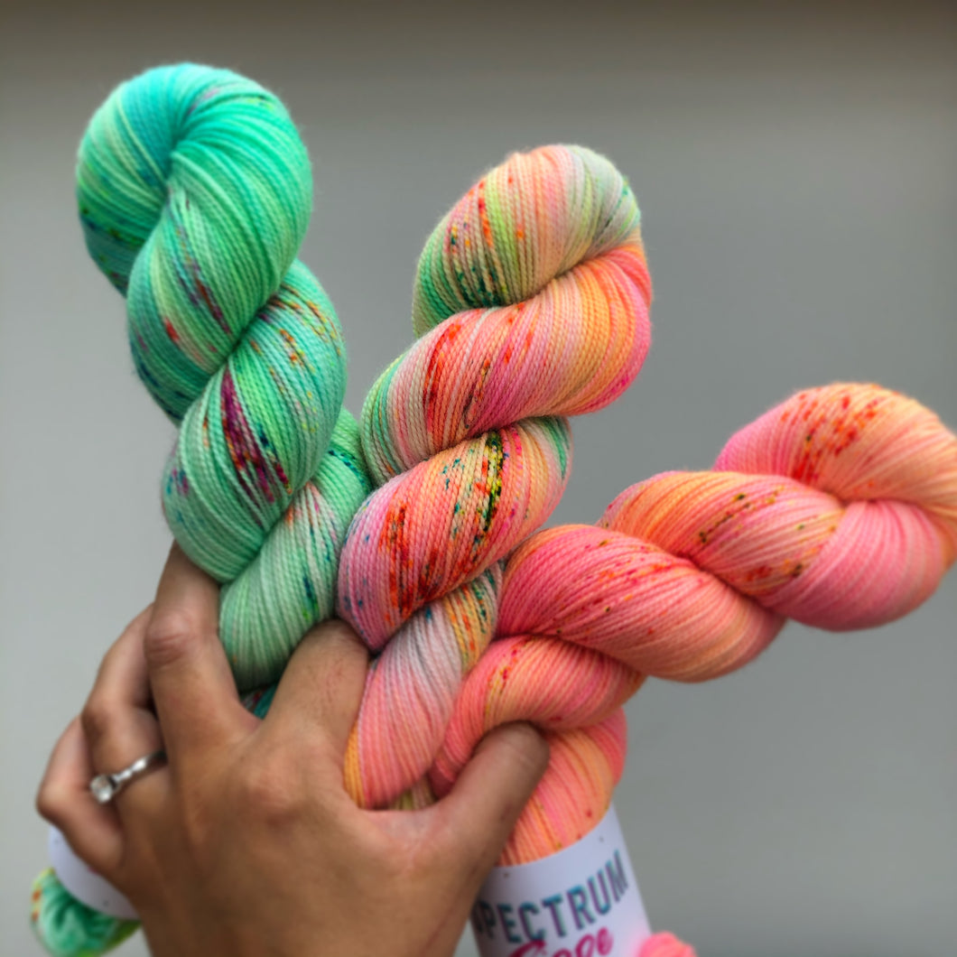 Tropical fade set * Sock yarn * Dyed to order