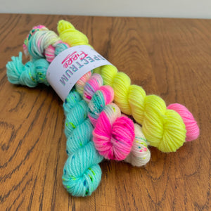 Club tropicana * Mini skein bundle * DK