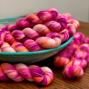 Passion flower Mohair