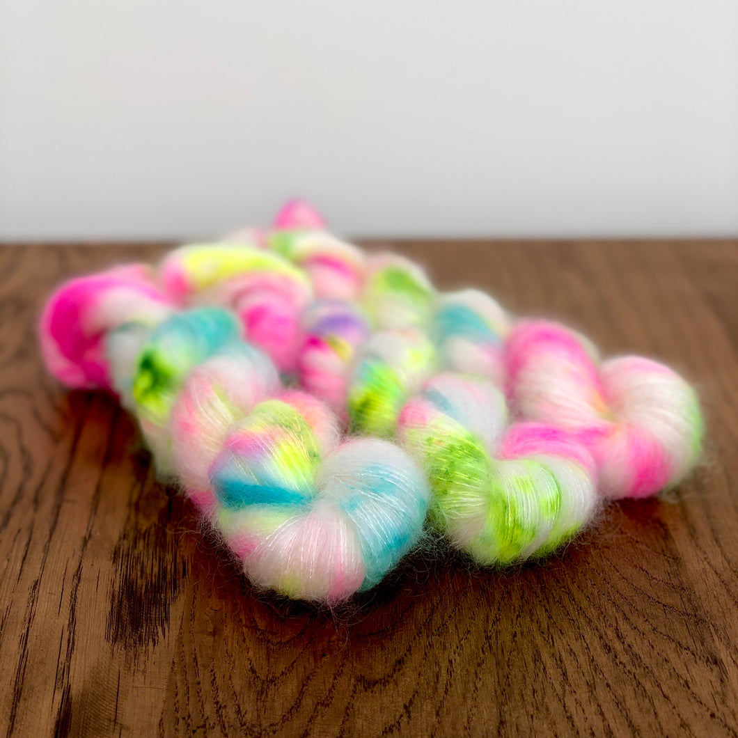 Club tropicana speckle Mohair
