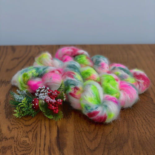 It's a very kitsch xmas Suri Alpaca Silk