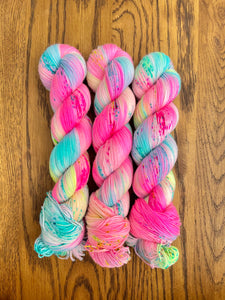 Club tropicana Sock yarn