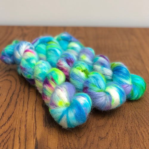 Sea spray Suri Alpaca Silk