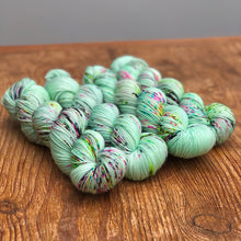 Mint speckle Sock yarn