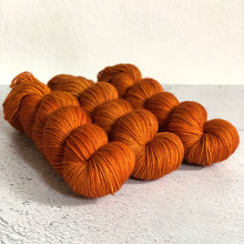 Rust Sock yarn
