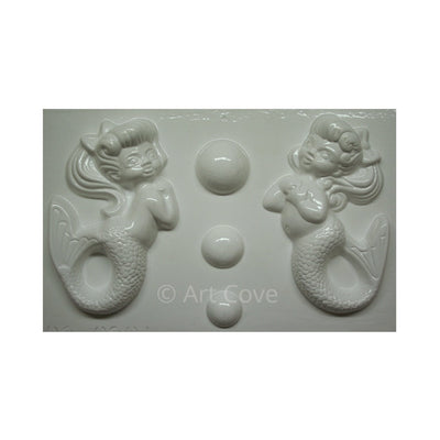 Mermaid & Fish Plaster Molds
