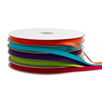 3/8 inch Doubled Faced Satin Ribbon