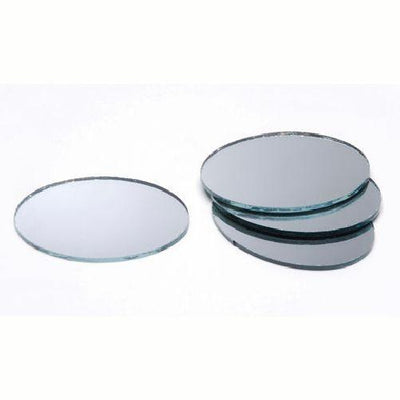 Oval craft mirrors