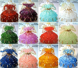 Birthstone Angel Ornament Kits
