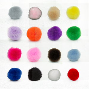 0.75 inch Mini Craft Pom Poms