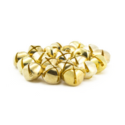 0.75 Inch 20mm Gold Craft Jingle Bells Charms 30 Pieces - artcovecrafts.com
