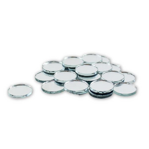 0.75 inch Small Mini Round Craft Mirrors Bulk 100 Pieces Mirror Mosaic Tiles - artcovecrafts.com