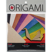 Fold 'Ems Origami 2-Sided Paper Assorted Bright Colors 5.875 inch 50 Sheets