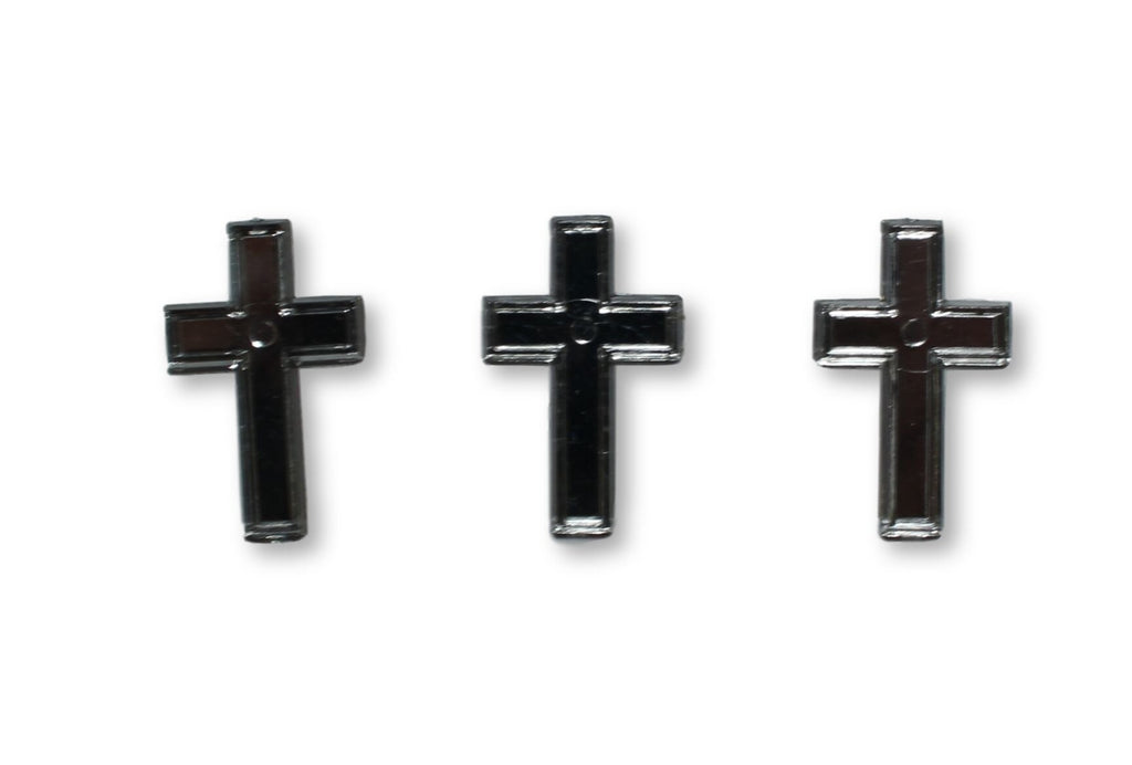 Mini Crosses Acrylic Charms Capias 24 Pieces