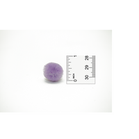 0.75 inch Lavender Mini Craft Pom Poms 100 Pieces - artcovecrafts.com