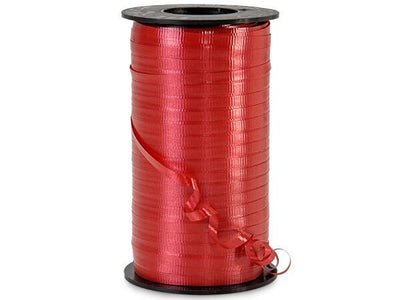 Red Curling Ribbon 500 Yard Roll 3/16 Inch Wide. - artcovecrafts.com