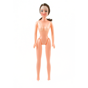 11 inch Plastic Craft Doll Brown Hair Fashion Doll 1 Piece - artcovecrafts.com
