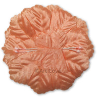 Peach Capia Capia Flowers Bulk Wholesale Flat Carnation Base 144 Pieces - artcovecrafts.com