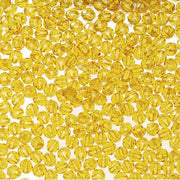 4mm Transparent Sun Gold Faceted Beads 1,000 Pieces - artcovecrafts.com