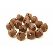 18mm Rustic Rusty Small Craft Jingle Bells 45 Pieces - artcovecrafts.com
