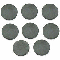 1 Inch 25mm Round Ceramic Magnets Bulk 144 Pieces Super Strong for Crafts 1/8 inch thickness