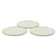 2.5 inch Small Round Craft Mirrors Bulk 24 Pieces Also Mirror Mosaic Tiles - artcovecrafts.com
