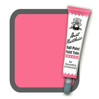 Rose Aunt Martha's Ballpoint Embroidery Fabric Paint Tube Pens 1 oz - artcovecrafts.com