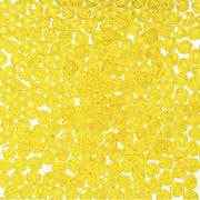 8mm Faceted Plastic Beads Transparent Acid Yellow Bulk 1,000 Pieces - artcovecrafts.com