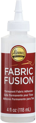 Aleene's Clear Fabric Fusion Permanent Fabric Adhesive 4 oz 23473