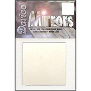 "2"" Darice Square Mirrors 4 Pieces 1613-51 - artcovecrafts.com"