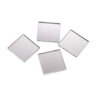 2 inch Glass Craft Small Square Mirrors Bulk 100 Pieces Mirror Mosaic Tiles - artcovecrafts.com