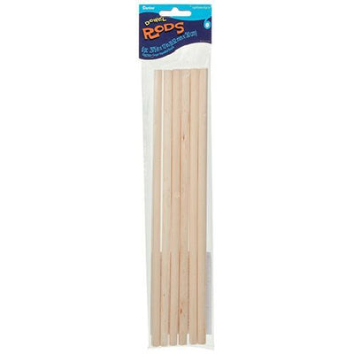 Wooden Dowel Rods 3/8 x 12 inches