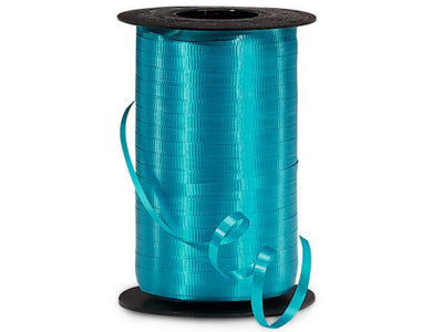 Turquoise Curling Ribbon 500 Yard Roll 3/16 Inch Wide. - artcovecrafts.com