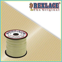 Glow in the Dark Plastic Rexlace 100 Yard Roll - artcovecrafts.com