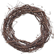 10 inch Natural Grapevine Wreath 1 Piece - artcovecrafts.com