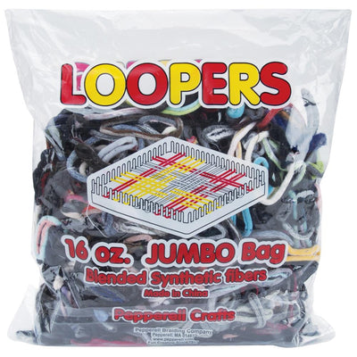 Pepperell Pot Holder Weaving Loopers Bulk Assorted Colors 16oz