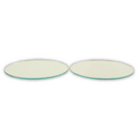 3 inch Small Round Craft Mirrors Tiles Bulk Wholesale Cheap 100 Pieces - artcovecrafts.com