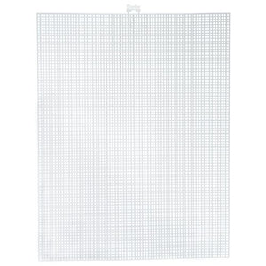 7 Mesh Count Clear Plastic Canvas Sheet 10.5 x 13.5 Inch 1 Sheet - artcovecrafts.com