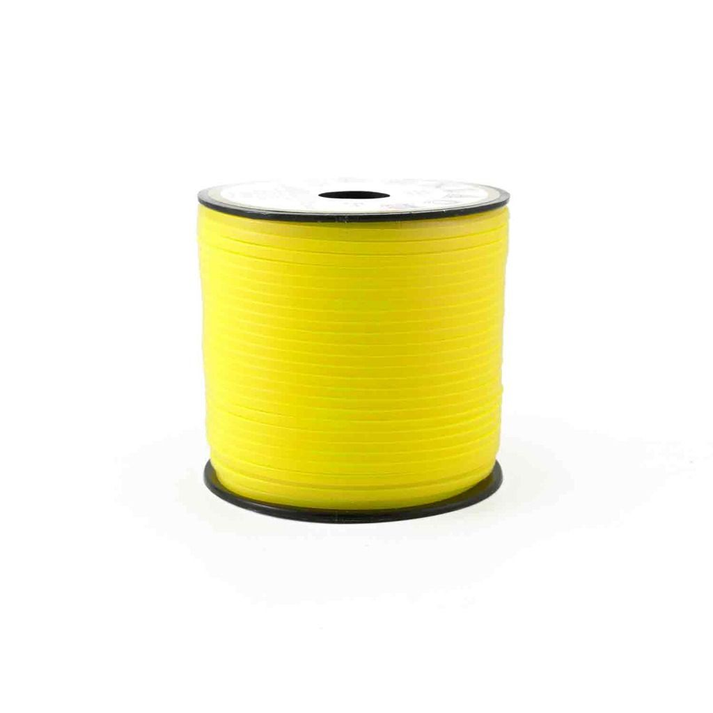 Glow in the Dark Yellow Plastic Craft Lace Lanyard Gimp String Bulk 100 Yard Roll