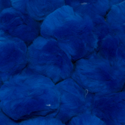 1.5 inch Royal Blue Craft Pom Poms 50 Pieces - artcovecrafts.com